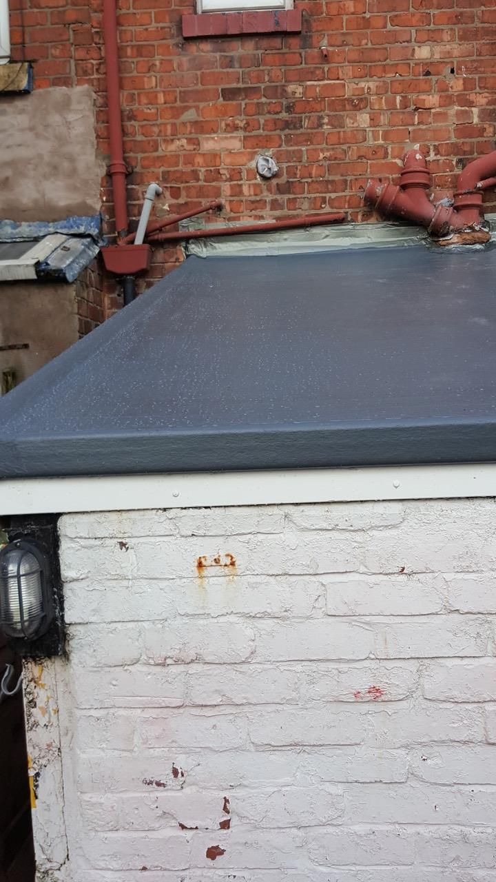 grp fibre glass roofing